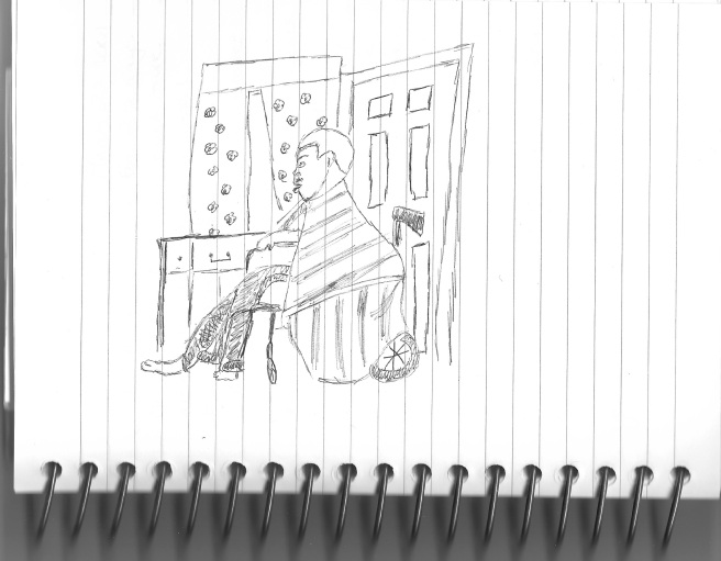 Dad drawing